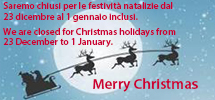 Christmas closure 2017