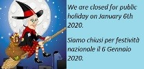Closure January 6th, 2020