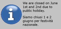 Closure June 2nd 2020
